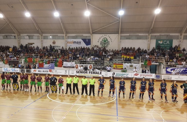 The latest 105 seconds of Portugal-Spain, final of the EuroFemale 2018, will be played on 1st November 2018