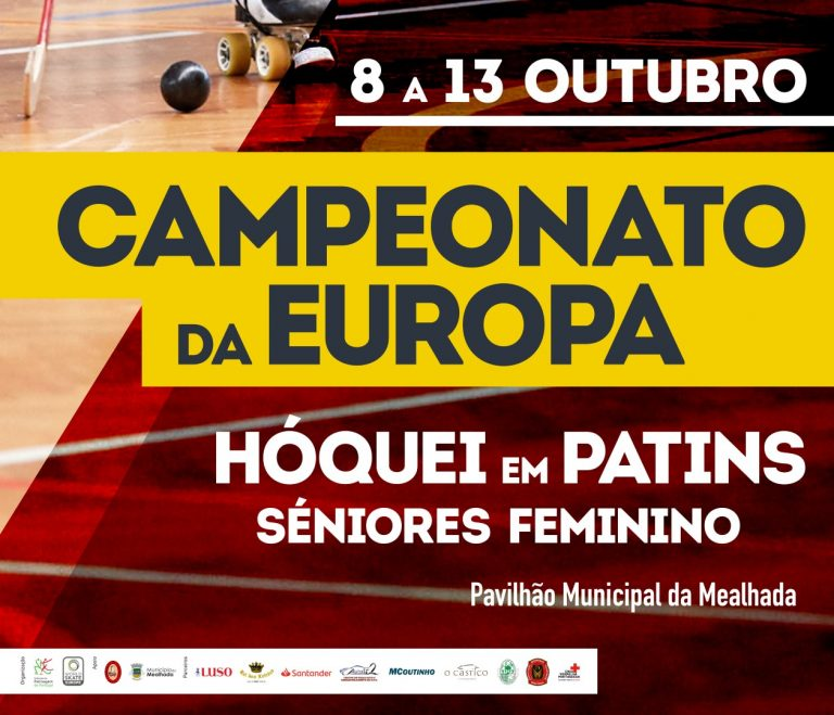 Monday will start Female European Championship in Mealhada (Portugal)