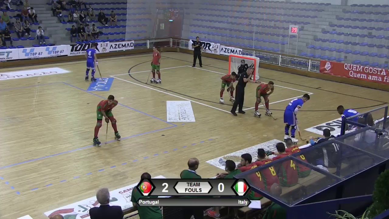 VIDEOS - 19/09/2018 - EUROU20 2018 - Match #09 - Portugal x Italy