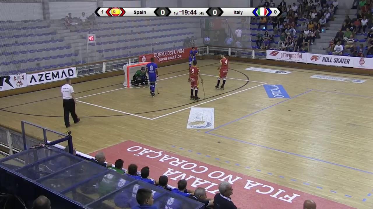 VIDEOS - 22/09/2018 - EUROU20 2018 - Match #18 - Spain x Italy