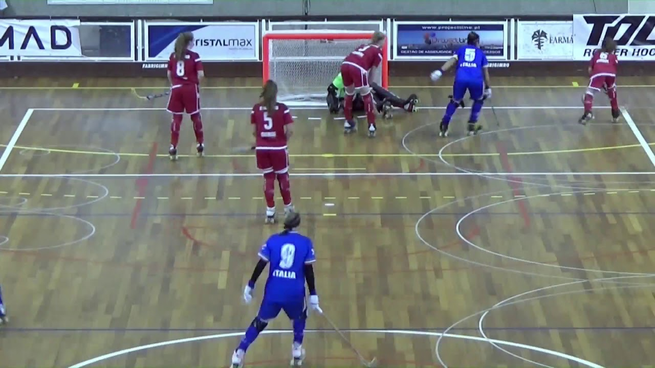 VIDEOS -11/10/2018 - EURO FEMALE SENIOR - Match #12 - England x Italy