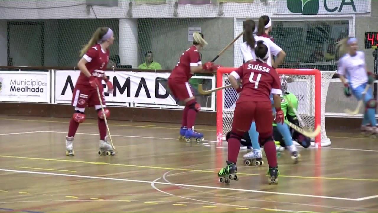 VIDEOS - 12/10/2018 - EURO FEMALE SENIOR - Match #18 - Switzerland x Portugal