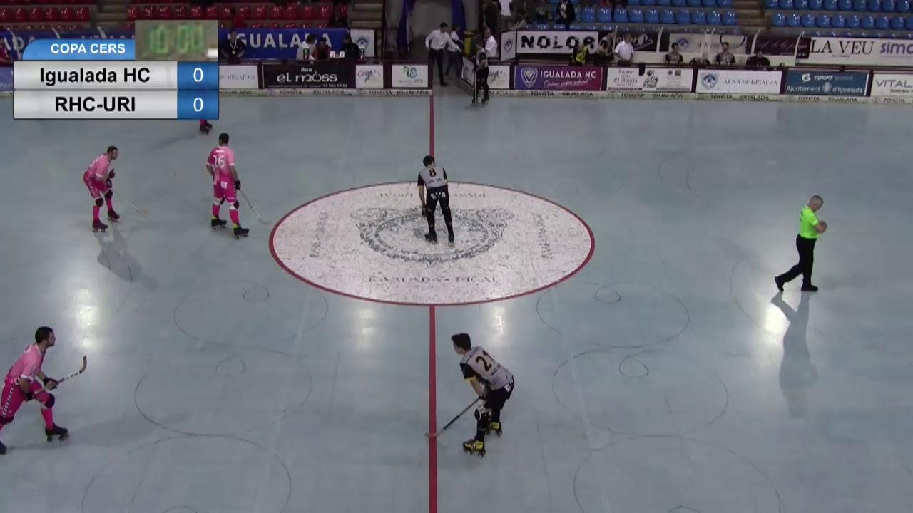 VIDEOS - 20/10/2018 - WS EUROPE CUP - Match #65 - Igualada HC (SP) x RHC Uri (CH)