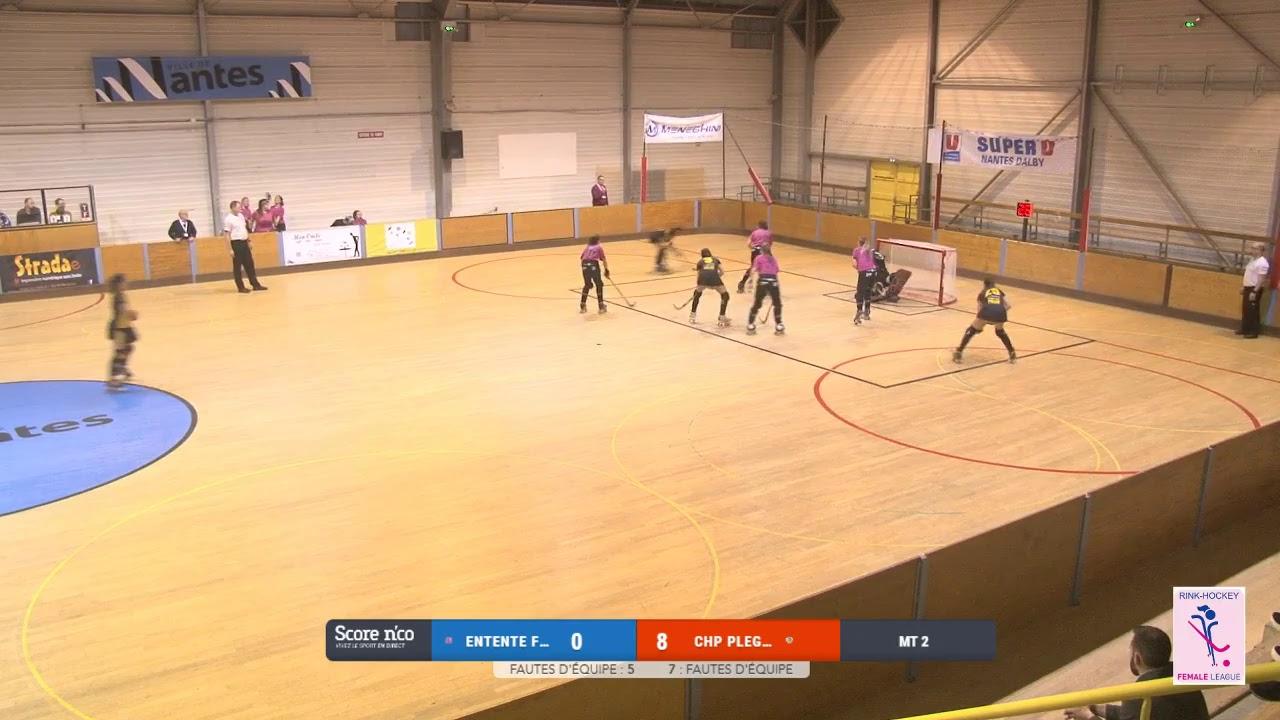 VIDEOS - 01/12/2018 - FEMALE LEAGUE CUP - Nantes Metropole (FR) x HCP Plegamans (SP)