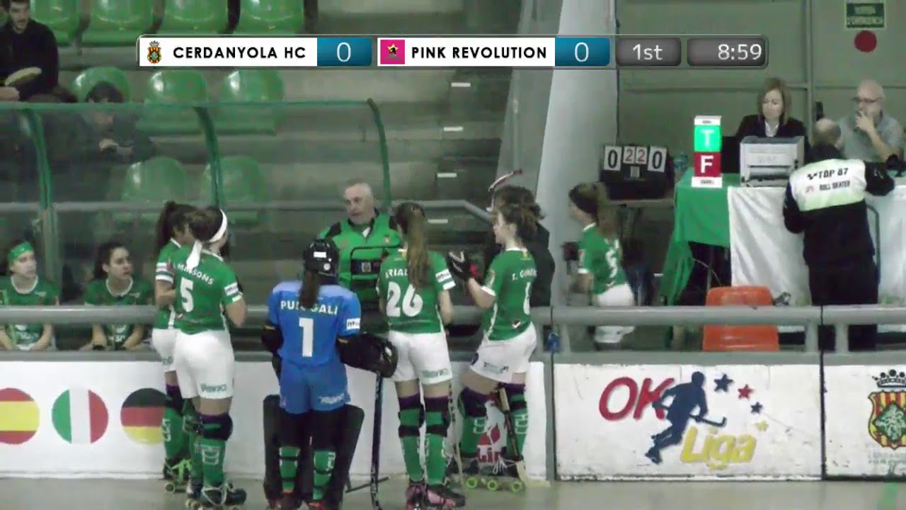 VIDEOS - 16/12/2018 - JIMENO'S CUP - Match #19 - Cerdanyola HC (SP) x Pink Revolution (IT)