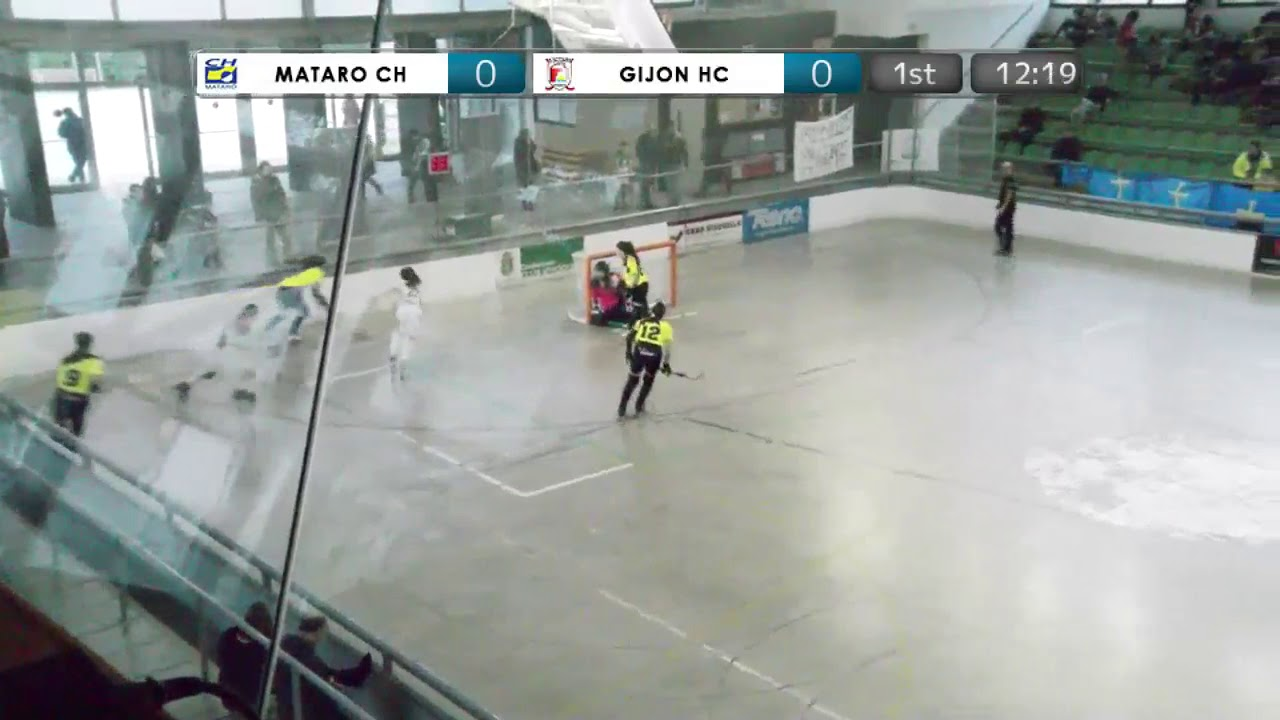 VIDEOS - 16/12/2018 - JIMENO'S CUP - Match #21 - CH Matarò (SP) x Gijon (SP)