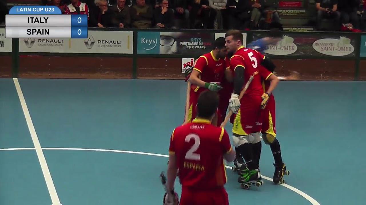 VIDEOS - 30/03/2018 - LATIN CUP U23 - Match #1 - Italy x Spain