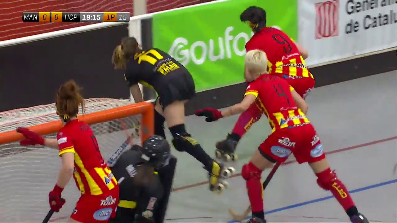 VIDEOS - 16/03/2019 - FEMALE LEAGUE CUP - CP Manlleu (SP) x HCP Plegamans (SP)