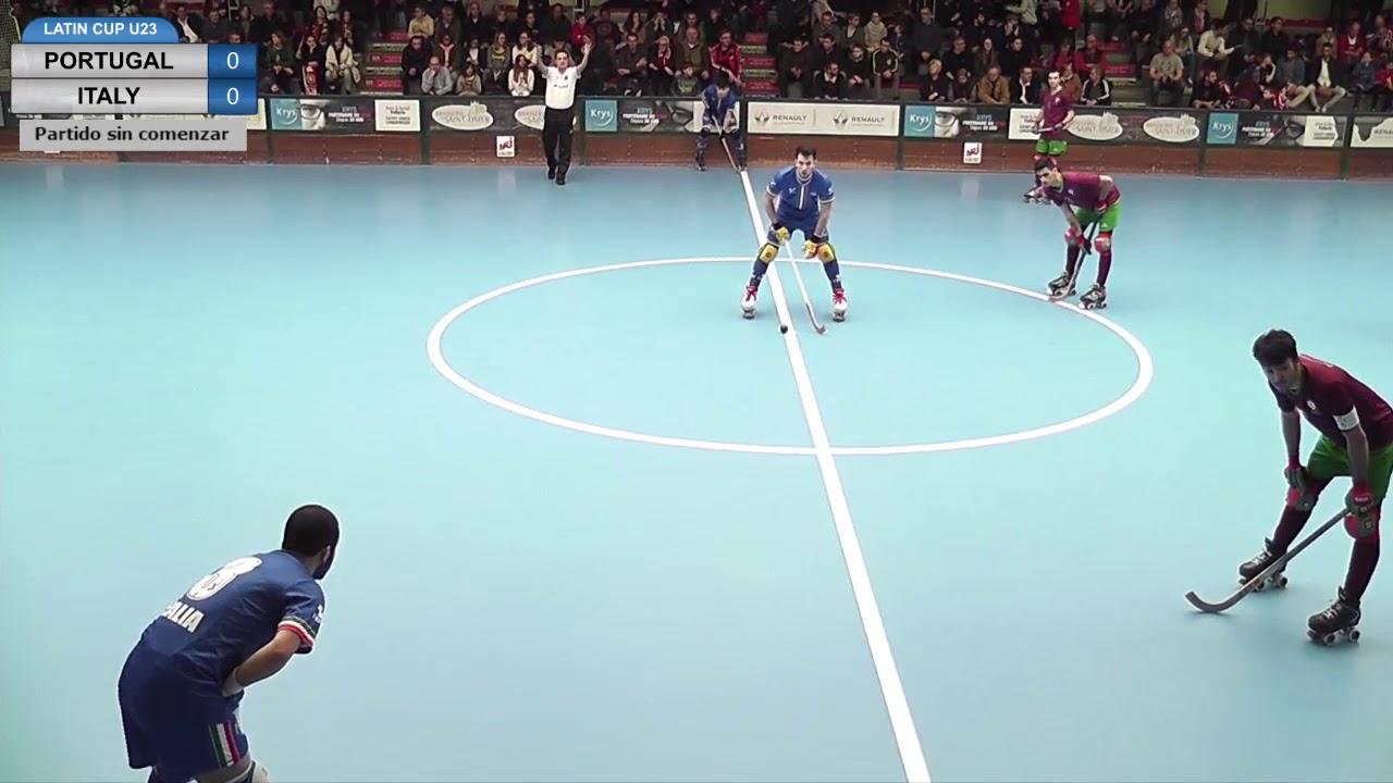 VIDEOS - 01/04/2018 - LATIN CUP U23 - Match #5 - Portugal x Italy