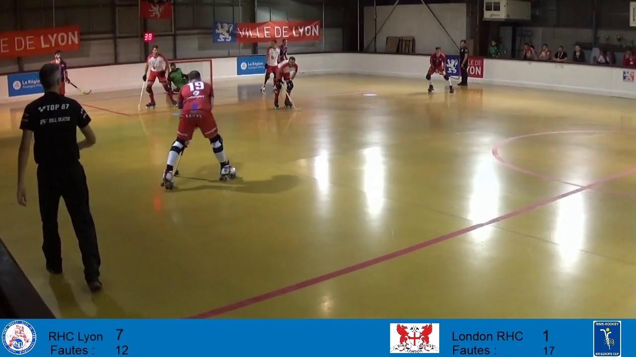 VIDEOS - 19/10/2019 - WS EUROPE CUP - RHC Lyon (FR) x London RHC (EN)