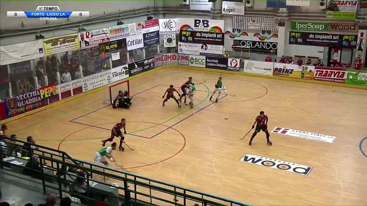 VIDEOS - 19/10/2019 - EUROLEAGUE - HC Forte dei Marmi (IT) x Deportivo Liceo (SP)