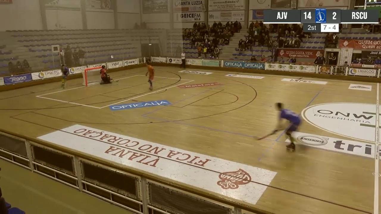 VIDEOS - 16/11/2019 - WS EUROPE CUP - Juventude Viana (PT) x Uttigen (CH)