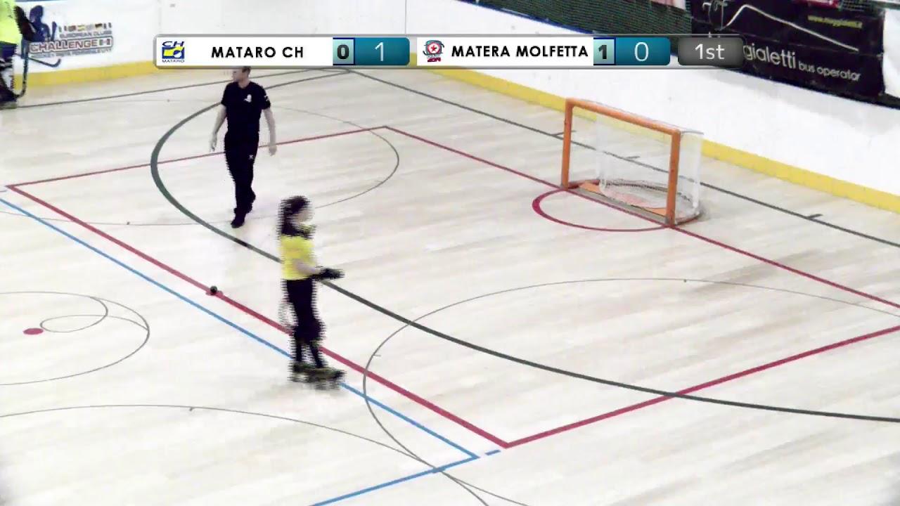 VIDEOS - 20/12/2019 - OKU17F - Match #12 - CH Matarò (SP) x Matera Molfetta (IT)