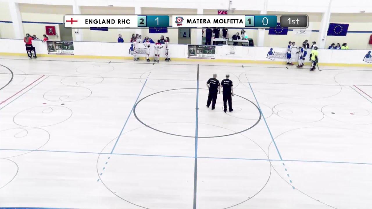 VIDEOS - 21/12/2019 - OKU17F - Match #14 – England RHC (EN) x Matera Molfetta (IT)