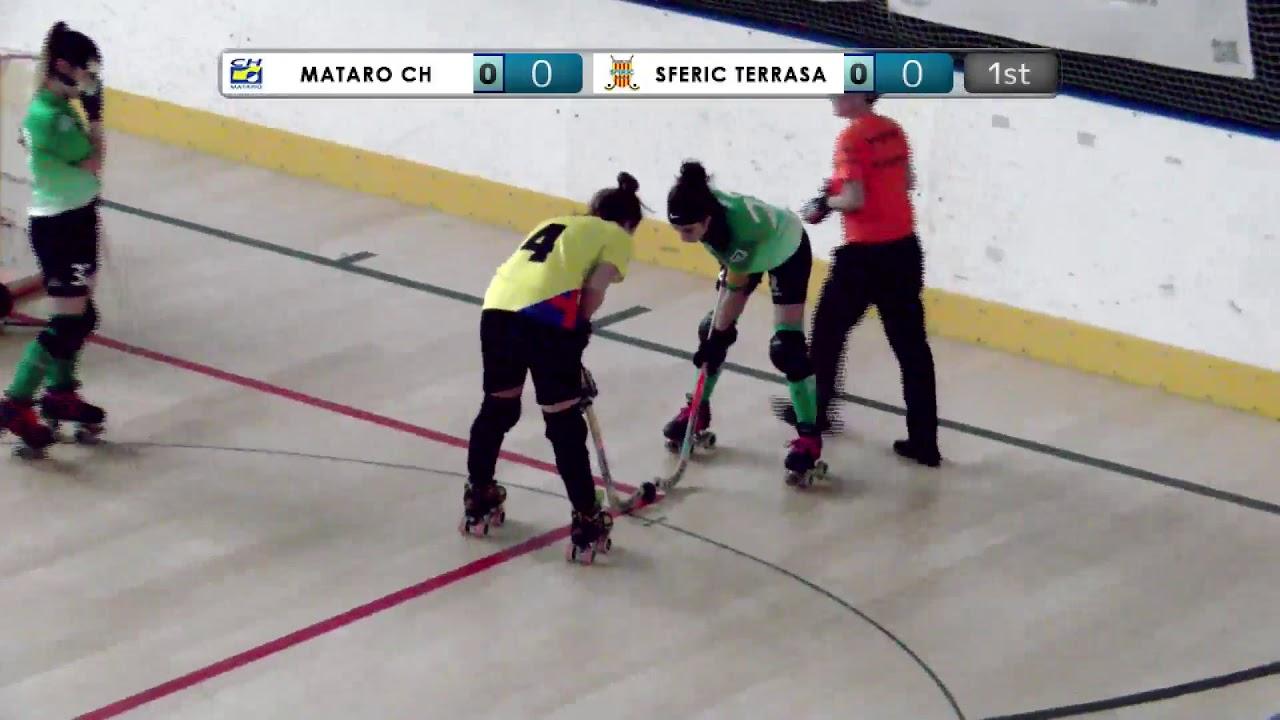 VIDEOS - 21/12/2019 - OKU17F - Match #16 - Matarò CH (SP) x Sferic Terrasa (SP)