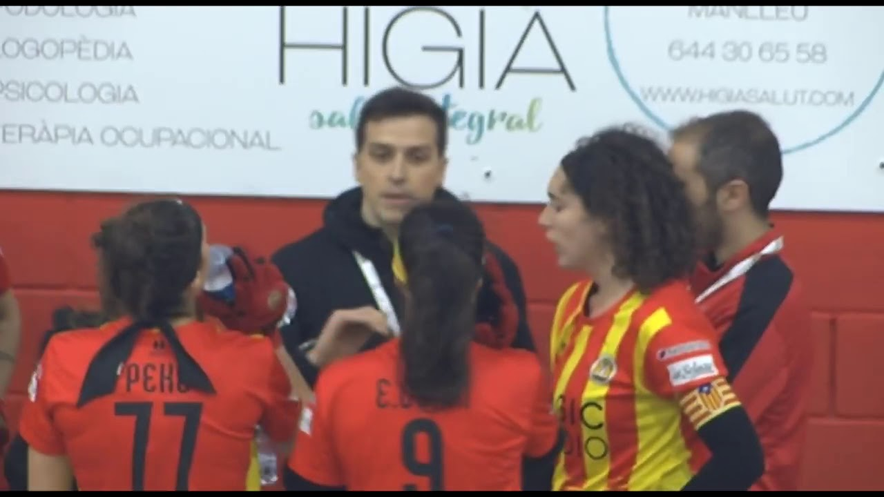 VIDEOS - 25-01-2020 - FEMALE LEAGUE CUP - Manlleu (SP) x Voltregà (SP)