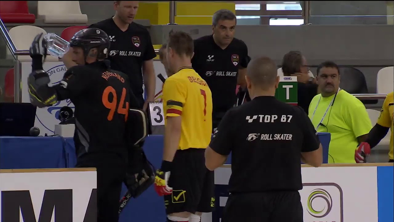 VIDEOS - 21/07/2018 - EUROHOCKEY CORUNA 2018 - Match #31 - Belgium x Netherlands