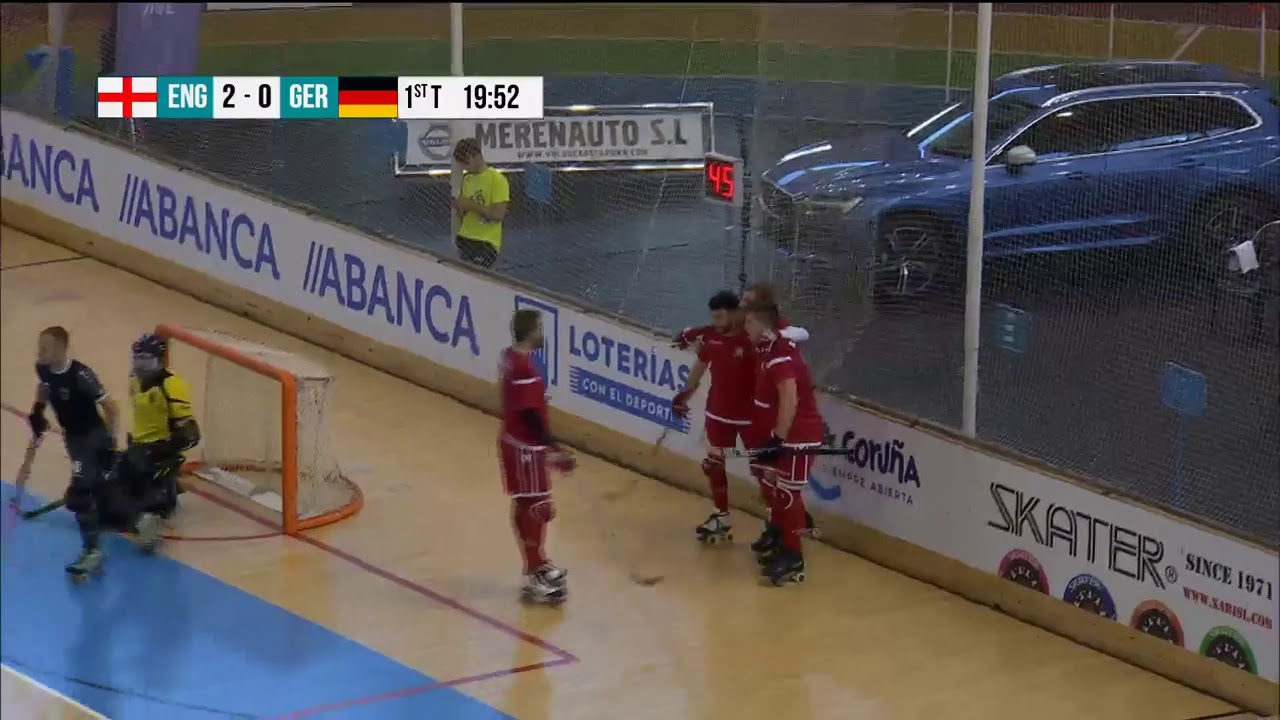 VIDEOS - 22/07/2018 - EUROHOCKEY CORUNA 2018 - Match #37 - England x Germany
