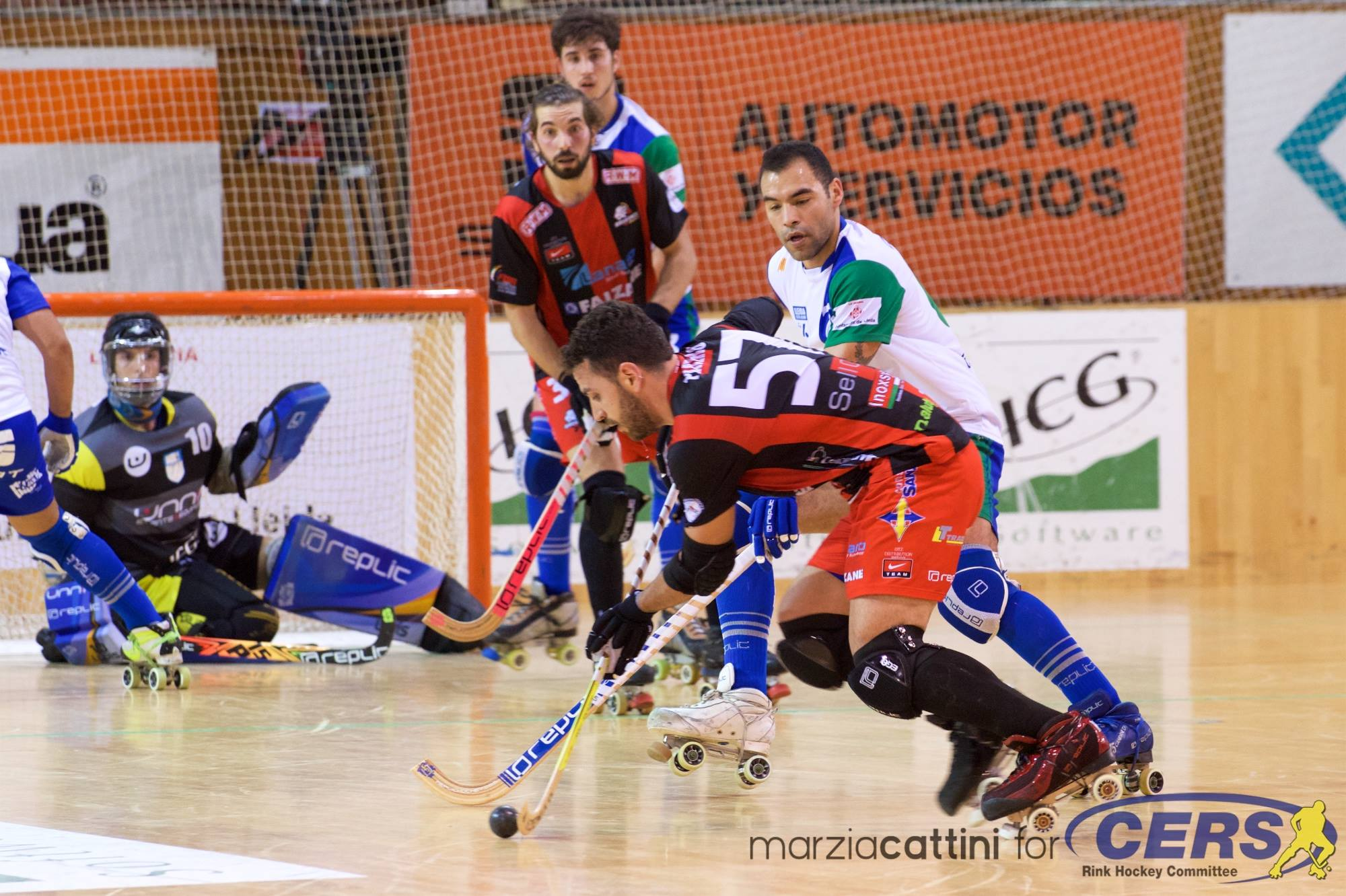 PHOTOS - 28/04/2018 - CERS CUP - Match #119 – Semifinal #2 – CP Voltregà (SP) v OC Barcelos (PT) - Photos by Marzia Cattini