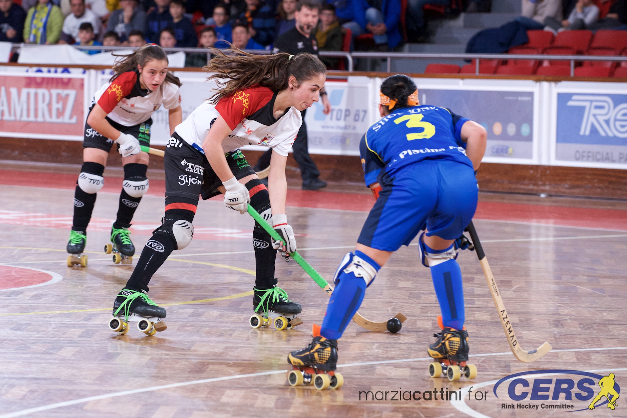 PHOTOS - 17/03/2018 - FEMALE LEAGUE CUP - Match #145 - Semifinal #2 - Stuart HCM (PT) v Gijon HC (SP)