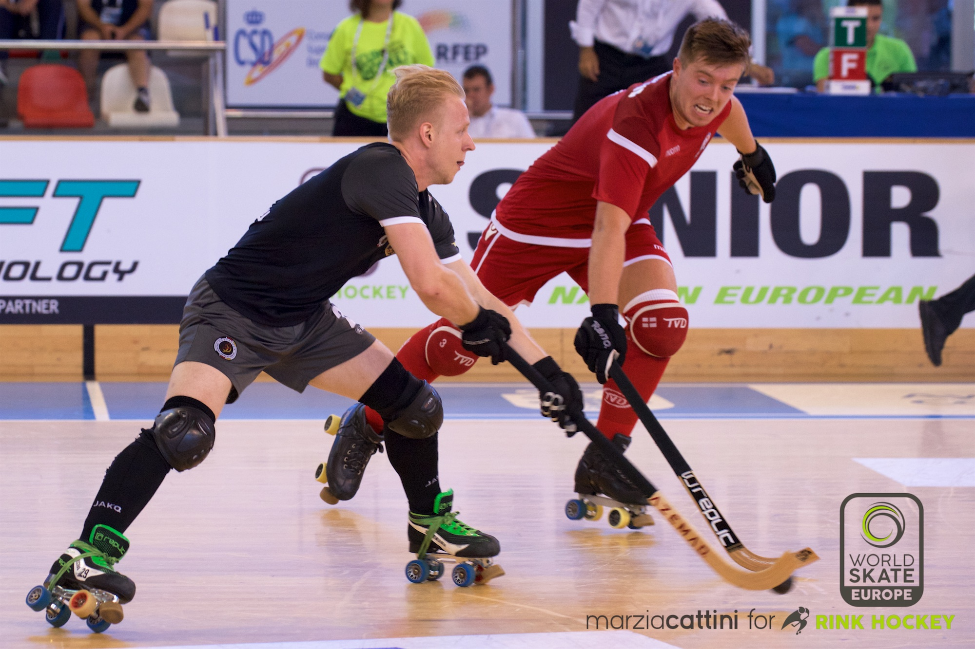 PHOTOS – 22/07/2018 - EUROHOCKEY CORUNA 2018 - Match #37 - England x Germany – Photos by Marzia Cattini