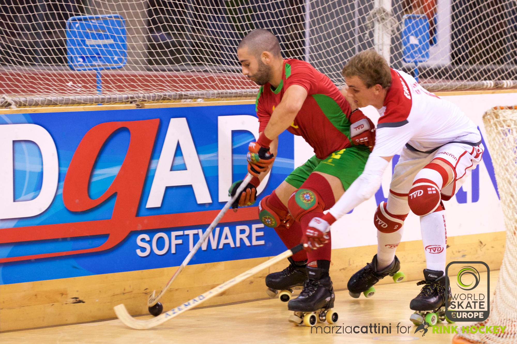 PHOTOS – 21/07/2018 - EUROHOCKEY CORUNA 2018 - Match #30 - England x Portugal – Photos by Marzia Cattini