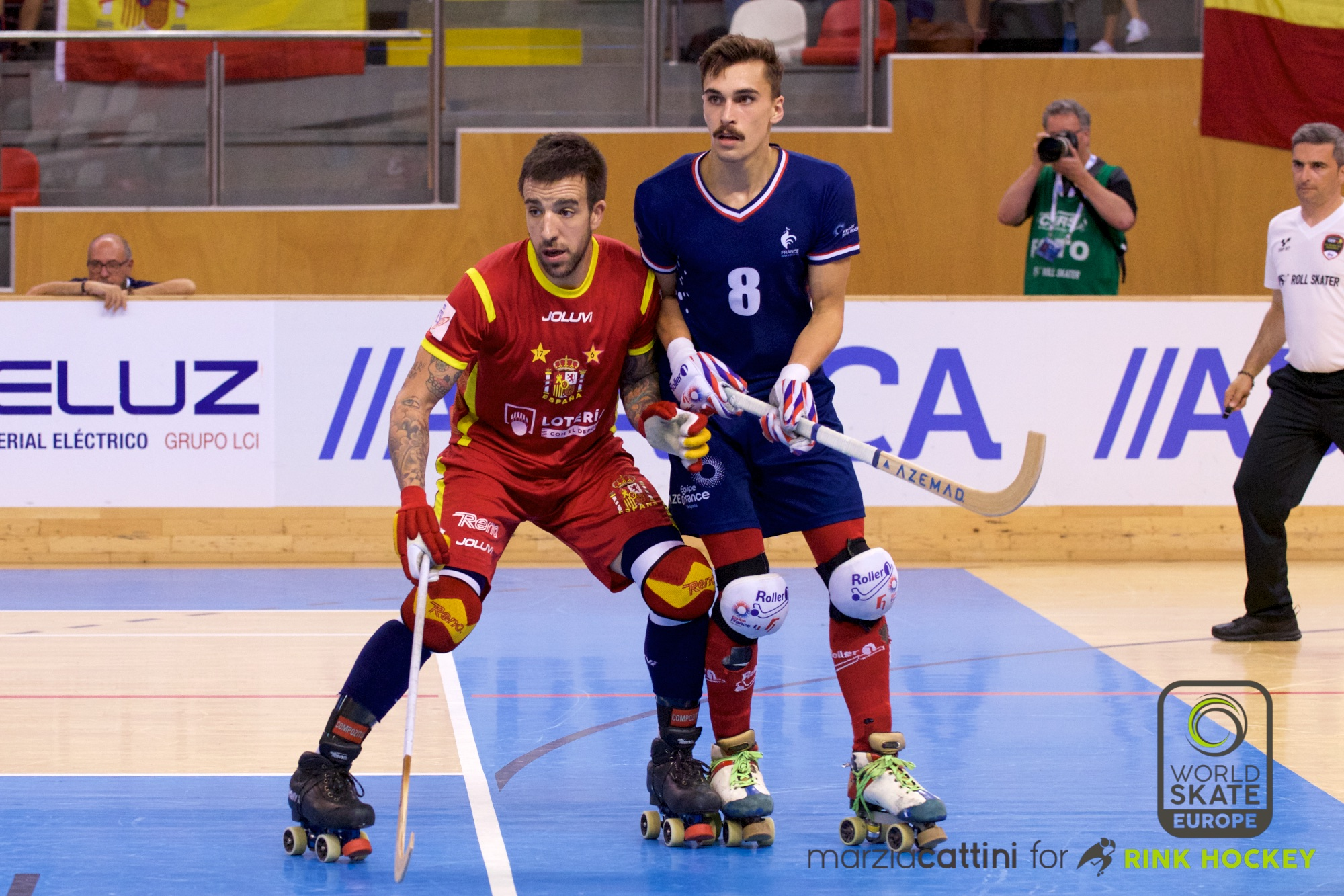 PHOTOS – 21/07/2018 - EUROHOCKEY CORUNA 2018 - Match #34 - Spain x France – Photos by Marzia Cattini