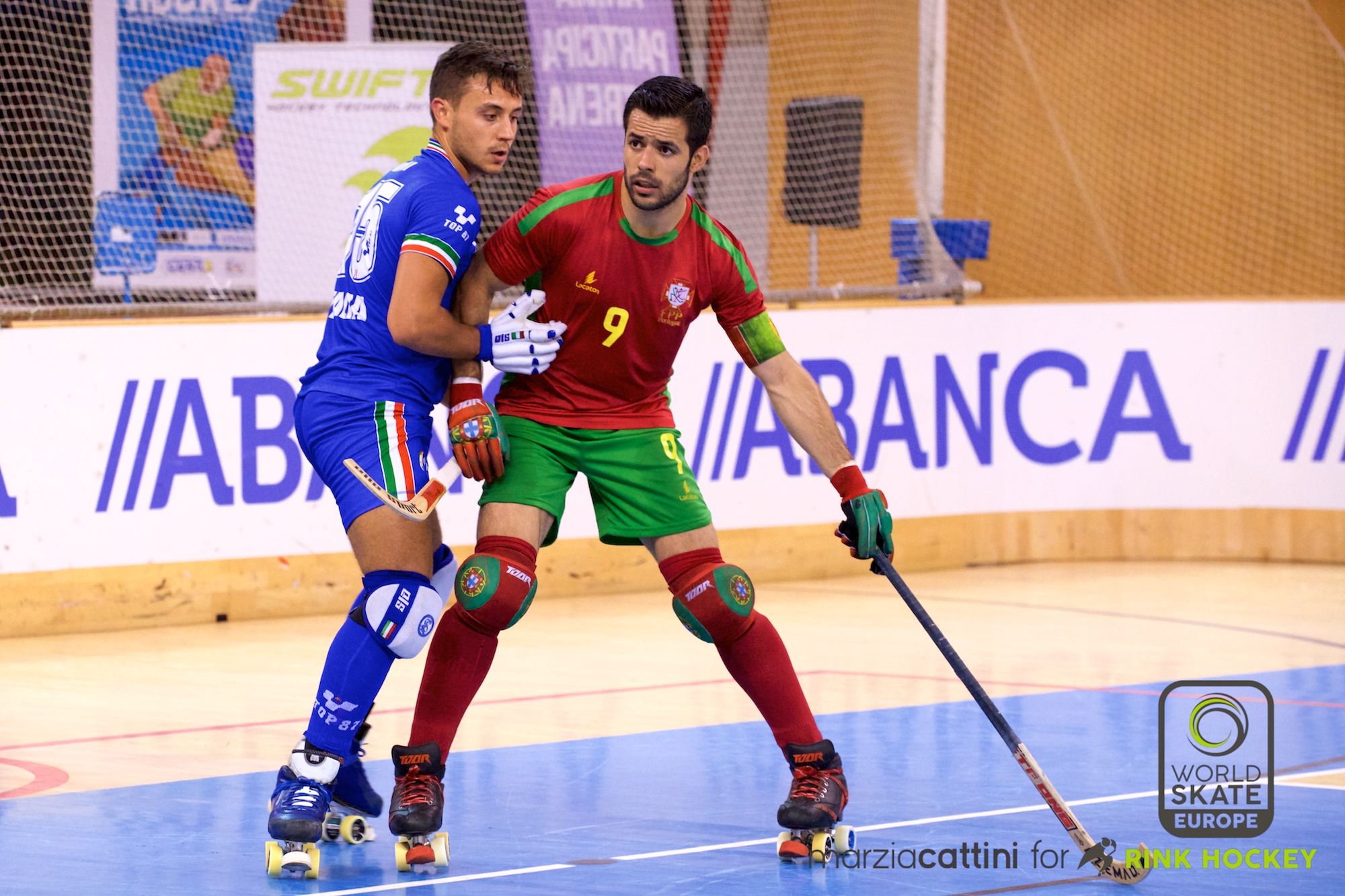PHOTOS – 21/07/2018 - EUROHOCKEY CORUNA 2018 - Match #35 - Portugal x Italy – Photos by Marzia Cattini