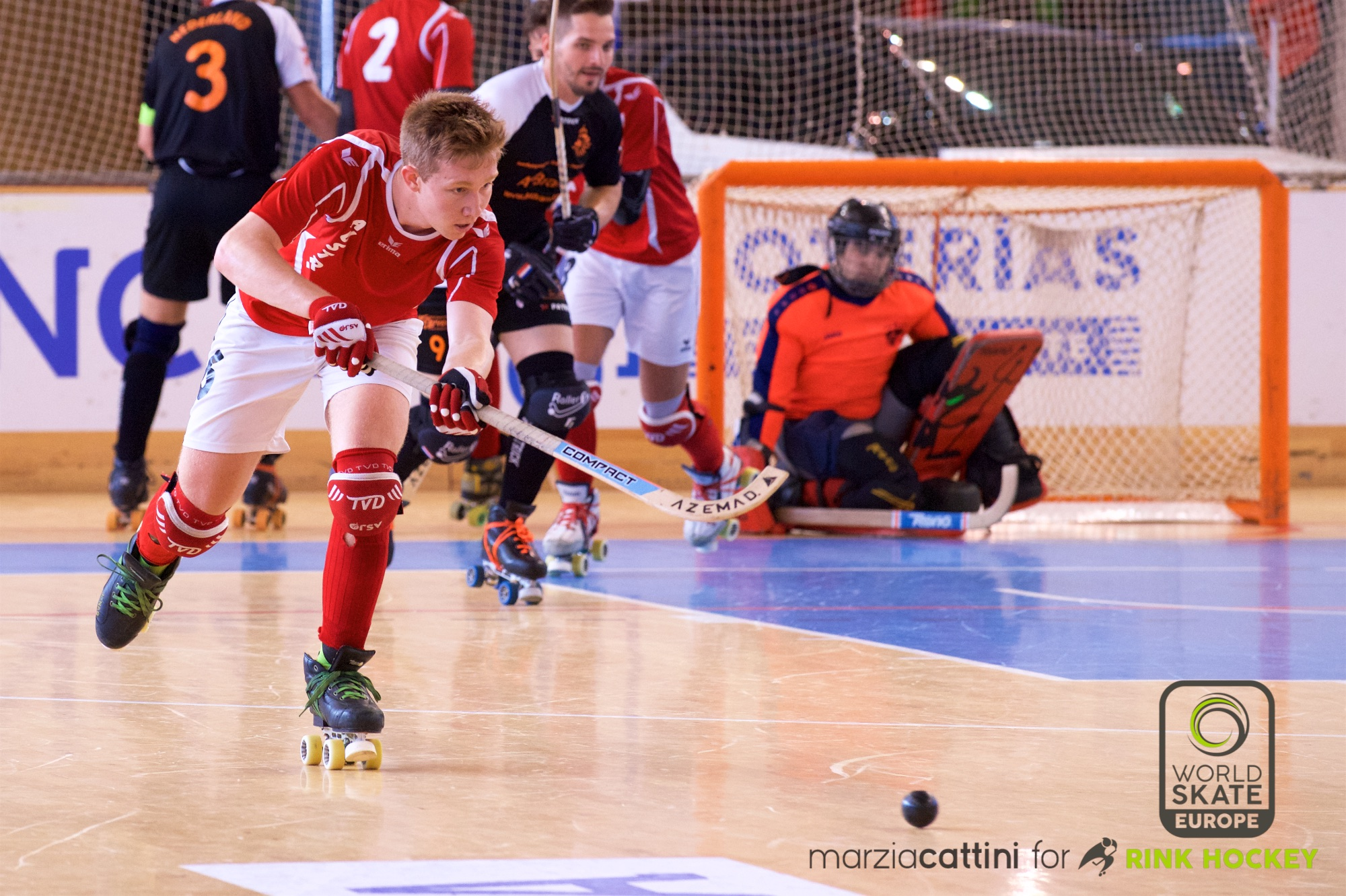 PHOTOS – 22/07/2018 - EUROHOCKEY CORUNA 2018 - Match #36 - Netherlands x Austria – Photos by Marzia Cattini