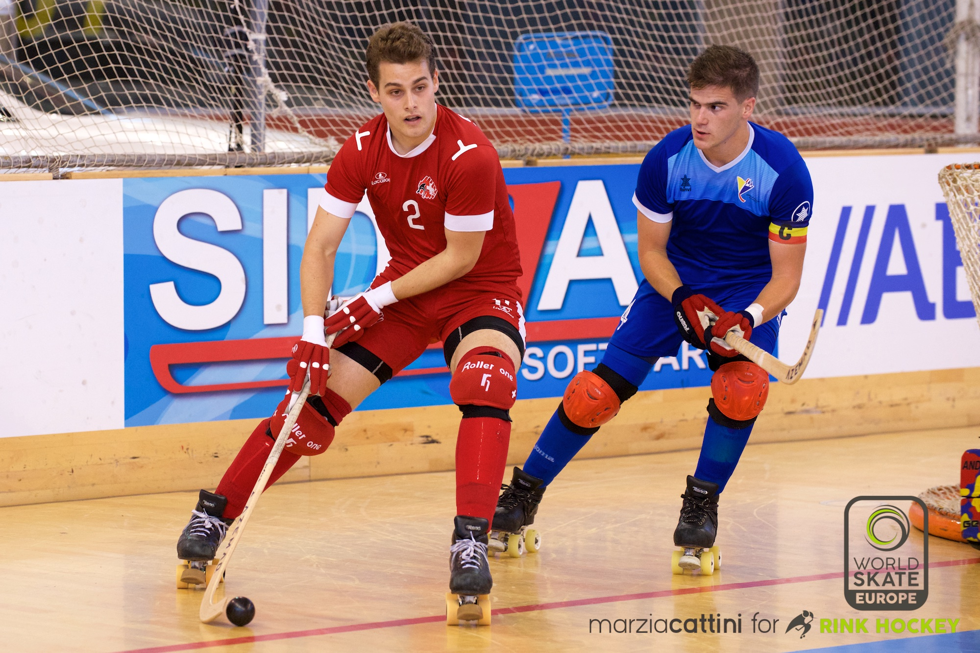 PHOTOS – 22/07/2018 - EUROHOCKEY CORUNA 2018 - Match #38 - Andorra x Switzerland – Photos by Marzia Cattini