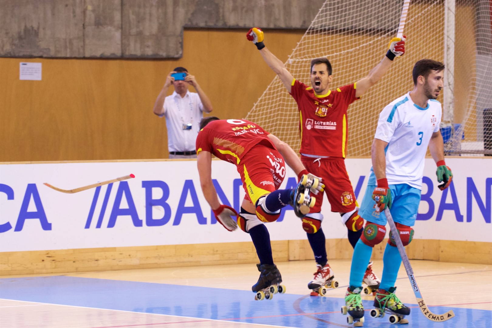 PHOTOS – 22/07/2018 - EUROHOCKEY CORUNA 2018 - Match #40 - Spain x Portugal – Photos by Marzia Cattini