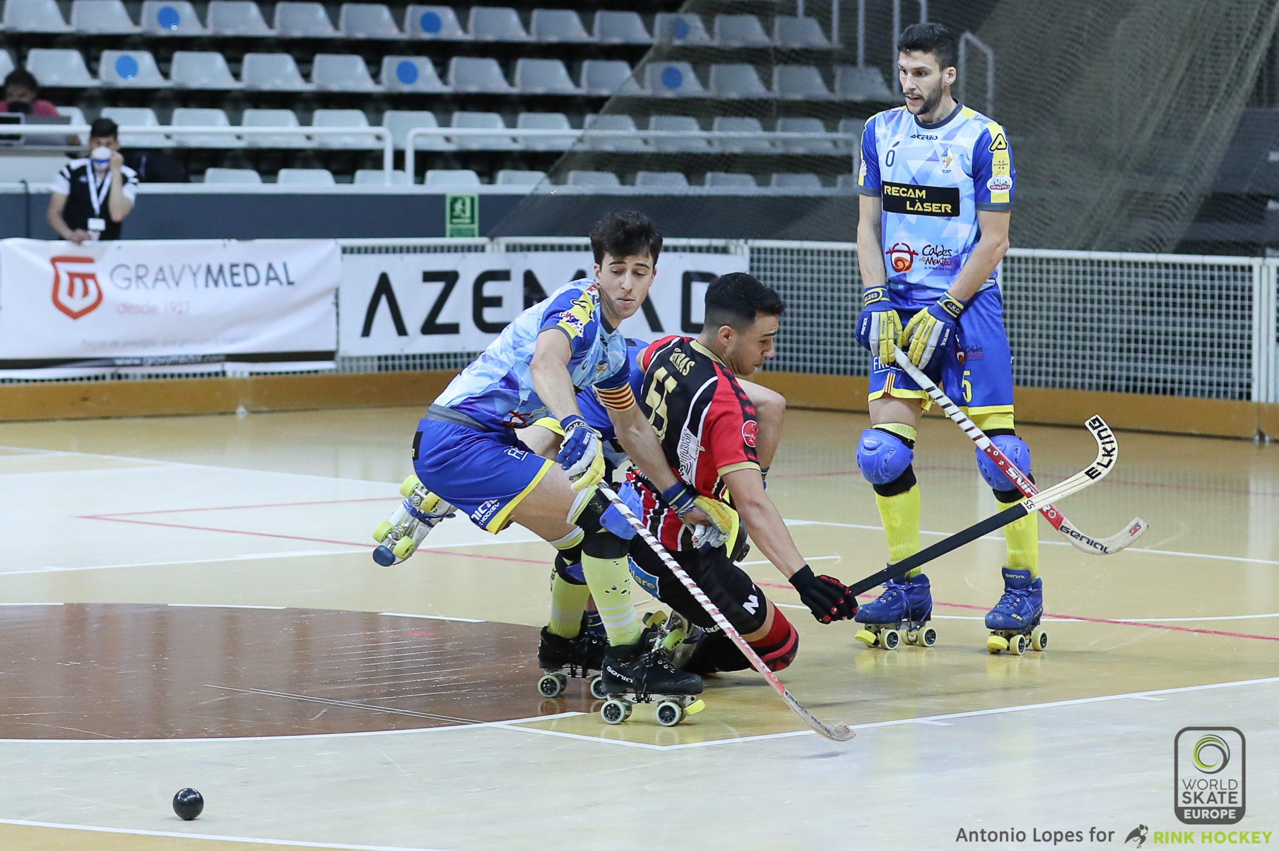 PHOTOS - 19-06-2021 - WS EUROPE CUP - Match #024 - SF2 - H. Sarzana (IT) x CH Caldes (SP)