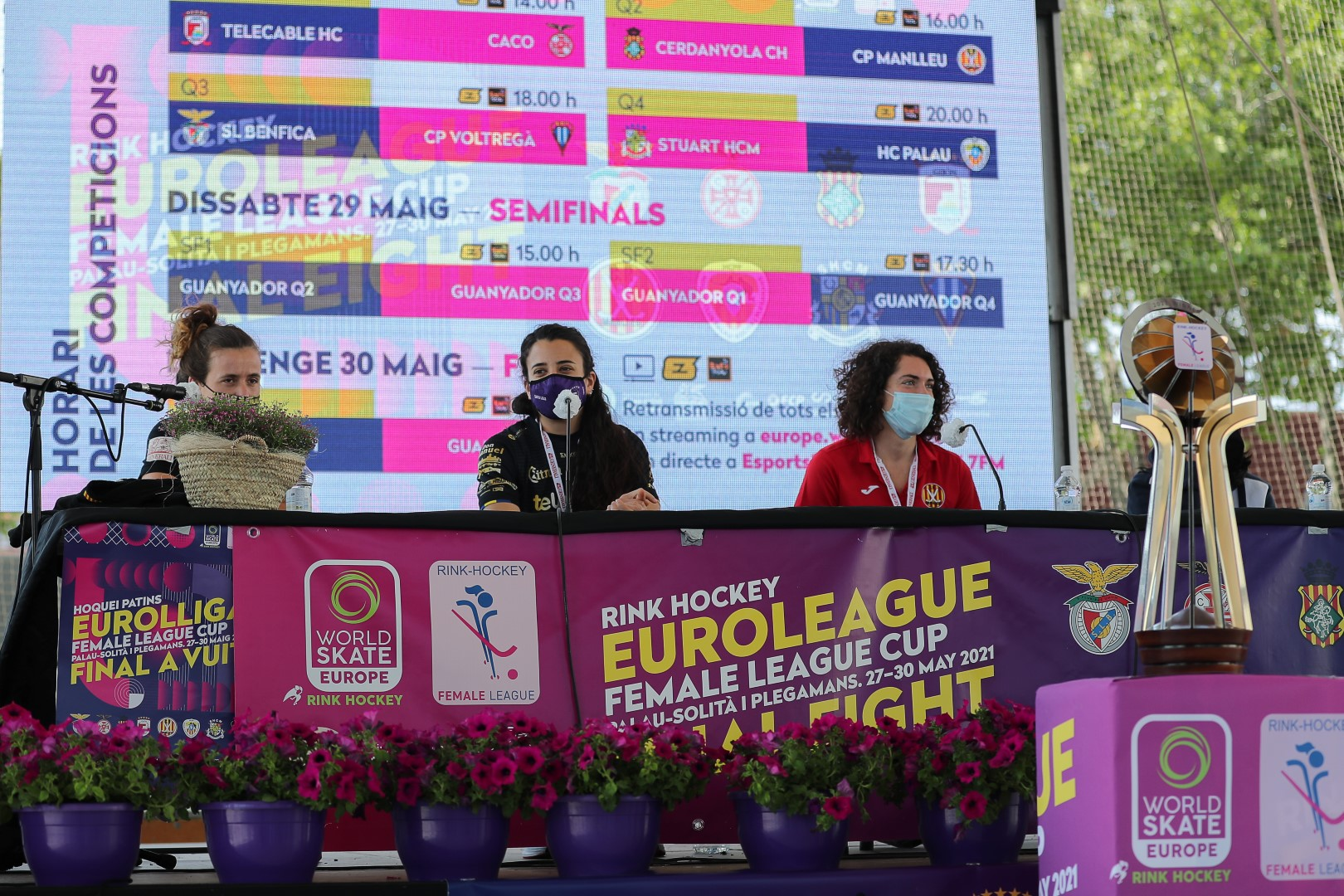 PHOTOS - 28-05-2021 - FEMALE LEAGUE CUP - OPENING CEREMONY