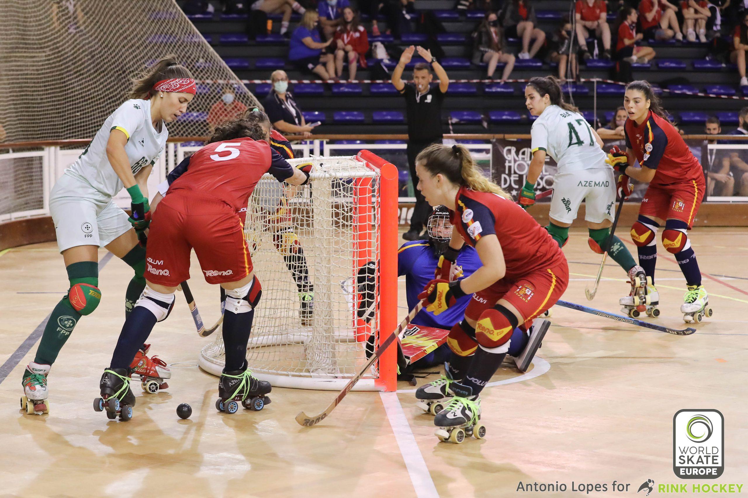 PHOTOS - 14-10-2021 - EUROFEMALE 2021 - Match #233 - Portugal x Spain
