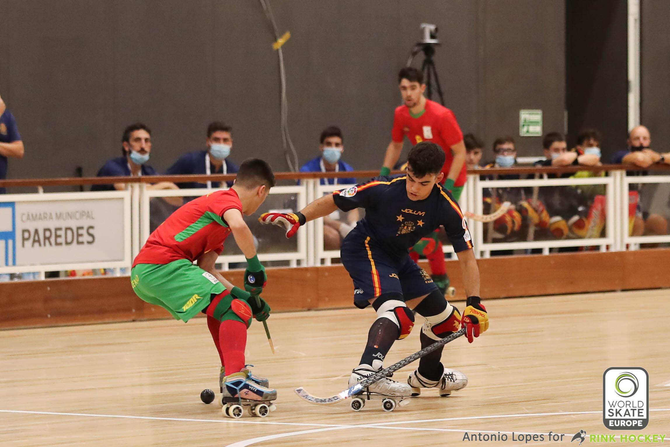 PHOTOS - 11-09-2021 - EURO U17 - PAREDES 2021 - Match #223 - Portugal x Spain