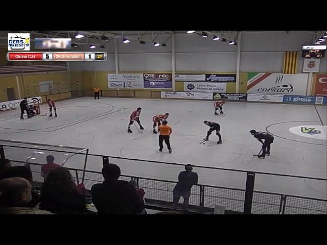 VIDEOS - 17/11/2018 - WS EUROPE CUP - Match #82 – Girona HC (SP) x RSC Darmstadt (DE)