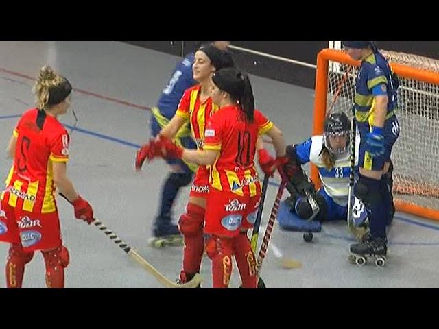 VIDEOS - 01/12/2018 - FEMALE LEAGUE CUP - CP Malleu (SP) x SC Bison Calemberg (DE)