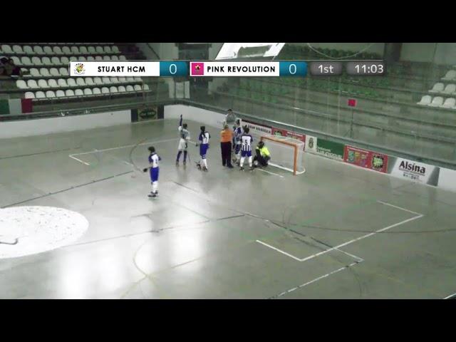 VIDEOS - 15/12/2018 - JIMENO'S CUP - Match #16 - Stuart HCM (PT) x Pink Revolution (IT)