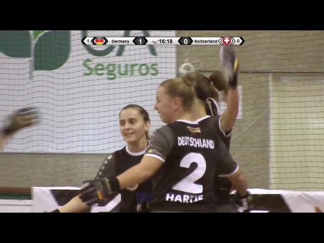 VIDEOS -11/10/2018 - EURO FEMALE SENIOR - Match #13 - Germany x Switzerland