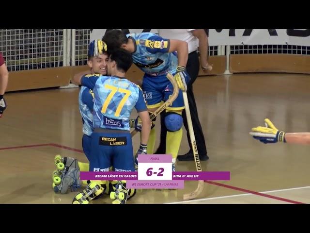 VIDEOS - WS EUROPE CUP –  Match #021 – CH Caldes (SP) x Riba D'Ave (PT)